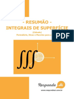 Resumao de Integrais de Superficie Do Responde Ai