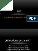 Health/education