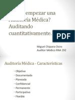 Bases Conceptuales de La Auditoria. El Metodo Cuantitativo