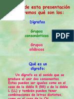 Grupo Consonantico y Silabas