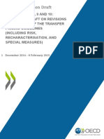 Discussion Draft Actions 8-9-10 Chapter 1 TP Guidelines Risk Recharacterisation Special Measures