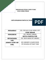 Carta Organisasi Pantia Pjk