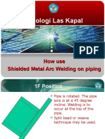 05-3 How Use SMAW Piping