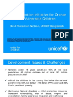 Social Protection Initiative for Orphan and Vulnerable Children