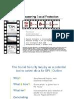 Measuring Social Protection