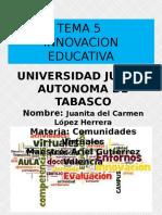 TEMA 5 innovación educativa