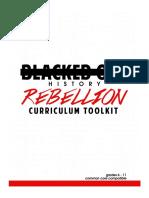 BOHM Rebellion Curriculum