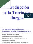 TEORIA DE LOS JUEGOS