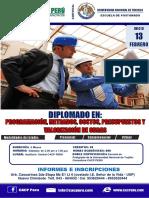 Brochure metrados