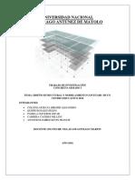 Informe de Diseño de Centro Educativo