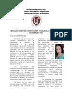 Gerencia de Mercadeo y Escasez de Bienes y Servicios en Venezuela