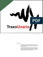 Trazo Unario No. 8 - 2013. Revita de Psicoanálisis. México