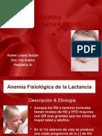 ANEMIAS HIPORREGENERATIVAS