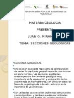 Construccion de Secciones Geologicas