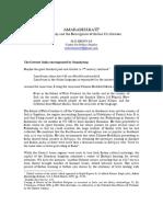 Amarabharati Samskritam and the Resurgence of the Indian Civilisation - Srinivas (MD Srinivas, 2005)