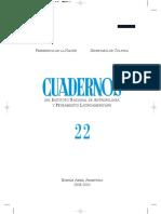 Cuadernos 22 Antropología