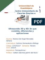 Ultrasonido 3D y 4D