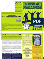 Jornal do movimento DA UNIDADE VAI NASCER A NOVIDADE