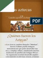 Unidad 2 Los Aztecas - Isabel Castro Sánchez