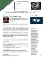 Nicholas Payton master class | IWasDoingAllRight