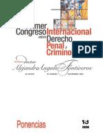 Ponencias Congreso de Derecho Penal y Criminologia 2005