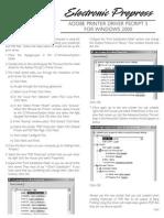 Windows 2000 Printer Setup
