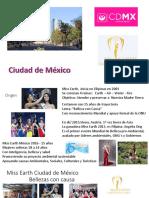 SEMBLANZA MISS EARTH CIUDAD DE MEXICO   MODELOS RSE y MAS