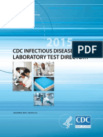 CDC Infectious Disease Laboratory Test Directory Th 2015