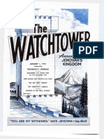 The Watchtower - 1951 issues