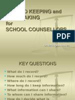 Rec Report Counsellors