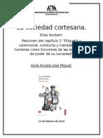 La Sociedad Cortesana