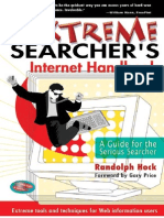 The Extreme Searchers Internet Handbook a Guide for the Serious Searcher (Feb 2004)