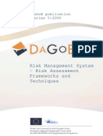 Risk Management System-Risk Assessment Frameworks and Techniques