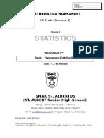 Worksheet 4 Grouped Data1