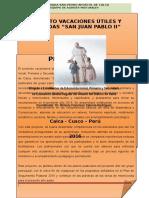 Proyecto San Pedro Apostol de Calca