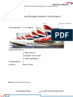 British Airways Strategic Analysis1 - 50 Page