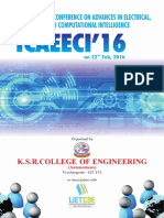 INTERNATIONAL CONFERENCE ON ADVANCES IN ELECTRICAL, ELECTRONICS AND COMPUTATIONAL INTELLIGENCE (ICAEECI'16)