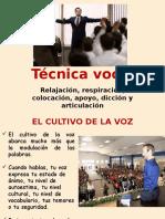 Sesion 08 - Tecnicas de Hablar en Publico