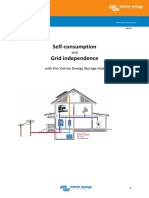 Whitepaper Self Consumption and Grid Independence With the Victron Energy Storage Hub En