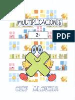Cuaderno de Multiplicaciones