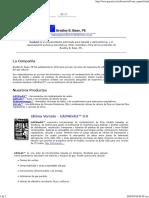 Software de Diseño de Tuberias de Gas