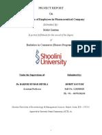 Mohit Final Project Pharma