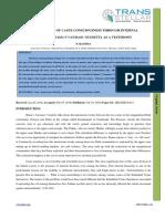 13. IJEL - Perpetuation of Caste Consciousness Through Internal Divisions
