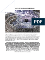 Importance of Hajj,And Its Rituals