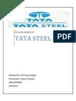 Security Analysis of TATA STEEL