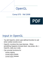 Review 1 ====opengl I