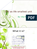 Cell as Life Smallest Unit