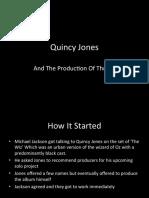 Quincy Jones Thriller Presentation