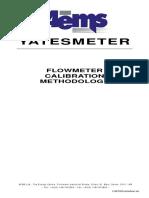 Flow Meter Audit Typical Method