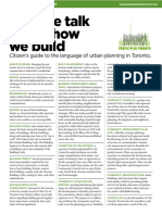 How We Talk About How We Build - Citizen's Guide to the Language of Urban Planning in Toronto.